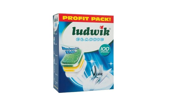 LUDWIK Таблетки для посудомоечных машин Classic 100шт